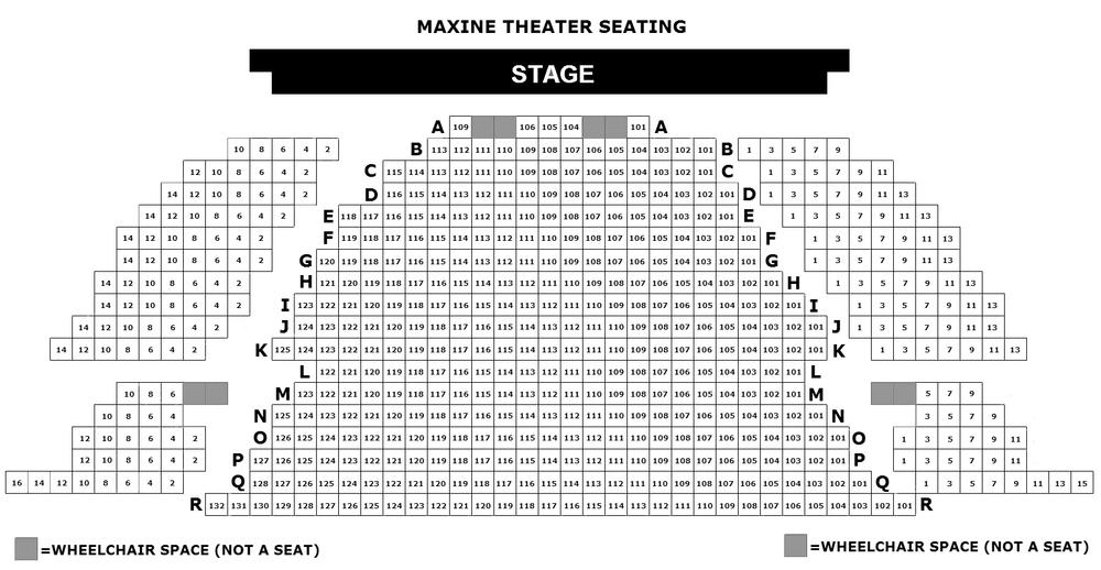 Maxine Seating Layout